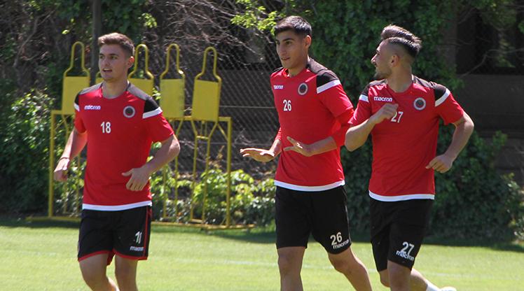 Gençlerbirliği'nde Trabzonspor mesaisi başladı