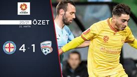 ÖZET   Melbourne City 4-1 Adelaide United