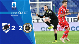 ÖZET | Sampdoria 2-2 Spezia