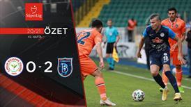 ÖZET | Ç.Rizespor 0-2 M.Başakşehir