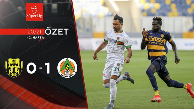 ÖZET   MKE Ankaragücü 0-1 A. Alanyaspor