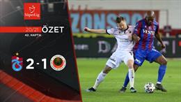 ÖZET   Trabzonspor 2-1 Gençlerbirliği