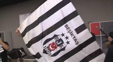 İşte Beşiktaş'ın soyunma odasındaki sevinci