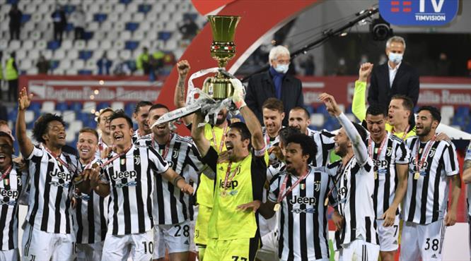 İtalya Kupası Juventus'un!