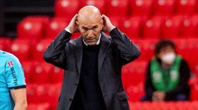 Zidane, Real Madrid'den ayrılıyor!
