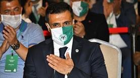 Konyaspor'un yeni başkanı Özgökçen
