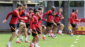 Galatasaray hazırlıklarına devam etti