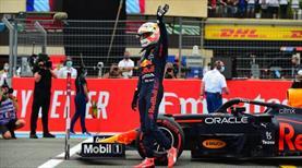 Fransa'da pole pozisyonu Verstappen'in
