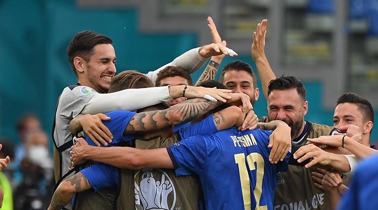 Lider İtalya grubu kayıpsız geçti: 1-0