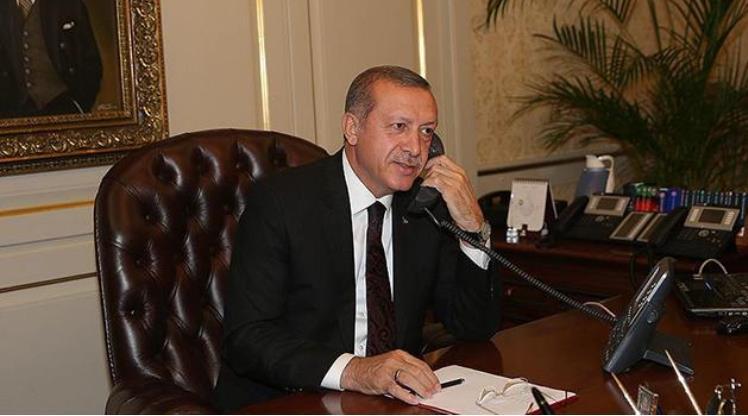 Cumhurbaşkanı Erdoğan'dan Elmas'a tebrik telefonu
