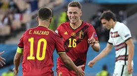 Belçika son şampiyonu altın golle eledi: 1-0