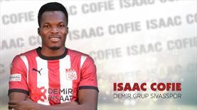 Sivasspor, Isaac Cofie ile uzattı