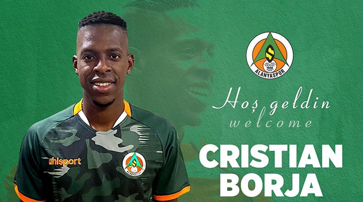 Alanyaspor, Cristian Borja'yı kiraladı
