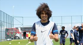 Hatayspor'da Boudjemaa takıma katıldı