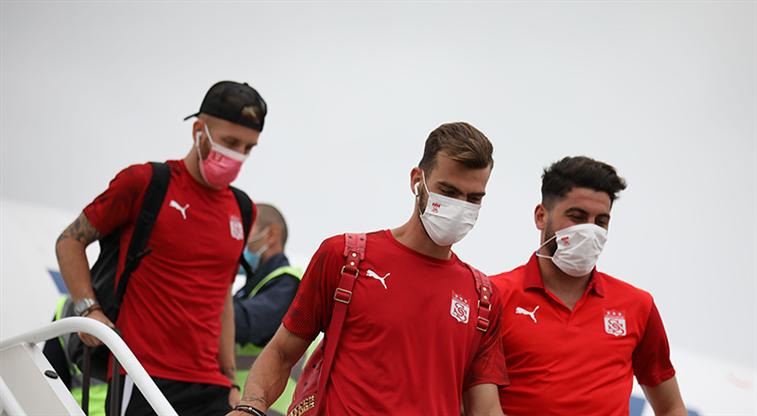 Sivasspor kafilesi Kişinev'e ulaştı