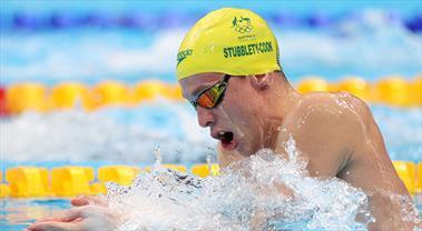 Yüzmede olimpiyat rekorları kırıldı