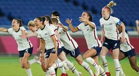 Kadın futbolunda yarı finalistler belli oldu