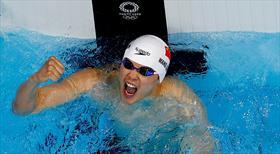 Shun Wang Asya rekoruyla şampiyon