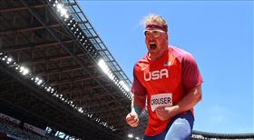 Crouser altını olimpiyat rekoruyla aldı