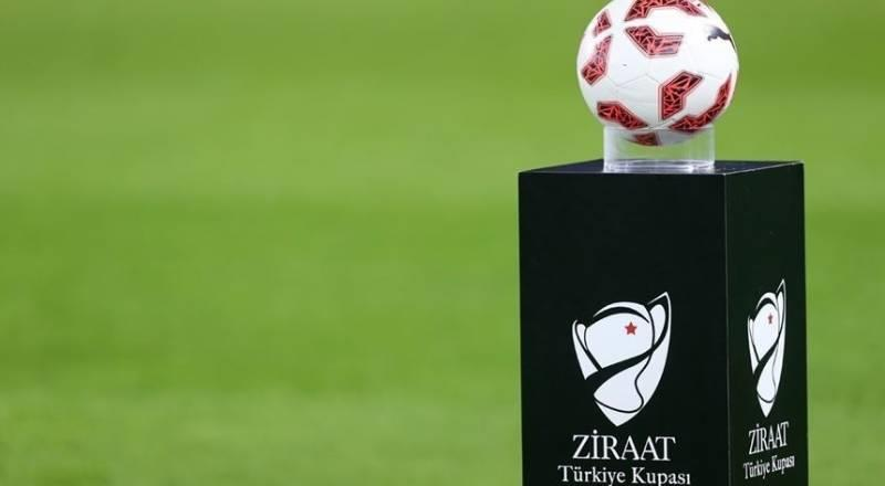 Ziraat Türkiye Kupası'nda maç takvimi belli oldu
