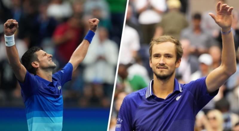 ABD Açık'ta finalin adı Djokovic - Medvedev