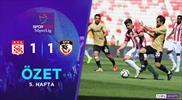 ÖZET   DG Sivasspor 1-1 Gaziantep FK