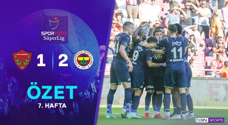A. Hatayspor 1-2 Fenerbahçe