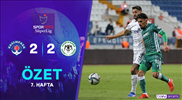ÖZET | Kasımpaşa 2-2 İH Konyaspor