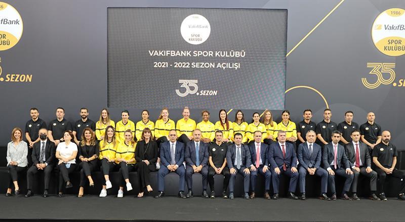 VakıfBank, 35. sezonunu törenle açtı