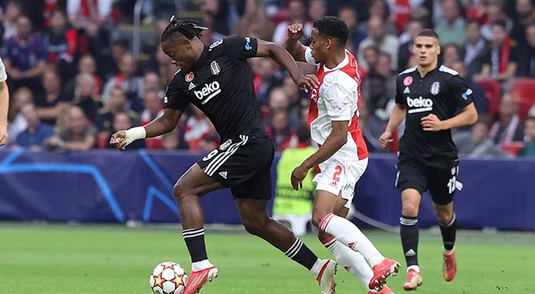 Beşiktaş, Amsterdam'dan eli boş döndü: 2-0