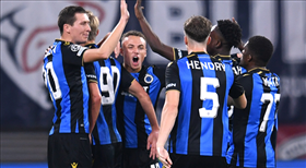 Club Brugge ilk yarıda geri döndü: 1-2