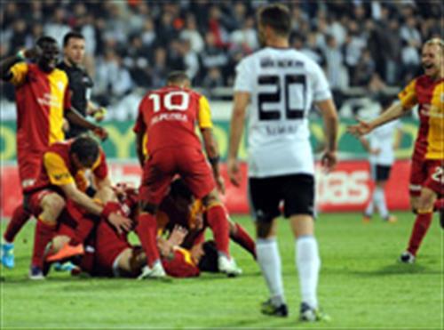 Beşiktaş-Galatasaray: 0 - 2