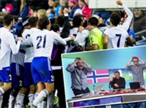 Tarihi gol Norveçlileri çıldırttı!