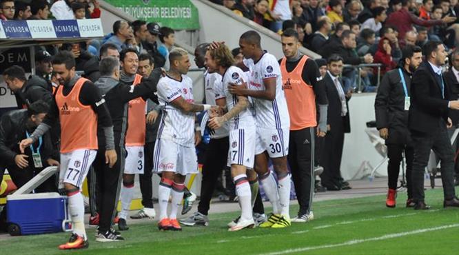 Kayserispor-Beşiktaş maçının özeti