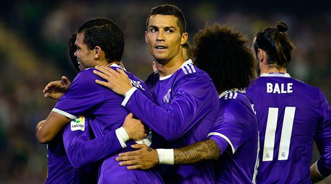 Real Madrid, Betis'e patladı