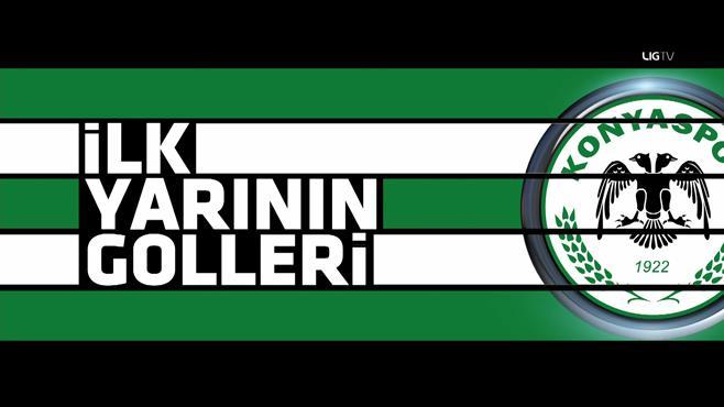 Konyaspor'un ilk yarı golleri: 1-5. hafta