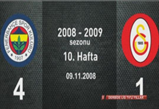 Fenerbahçe-Galatasaray: 4-1
