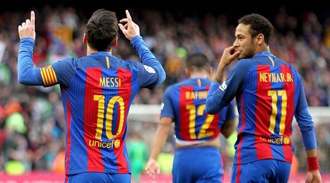 Barcelona ter attı