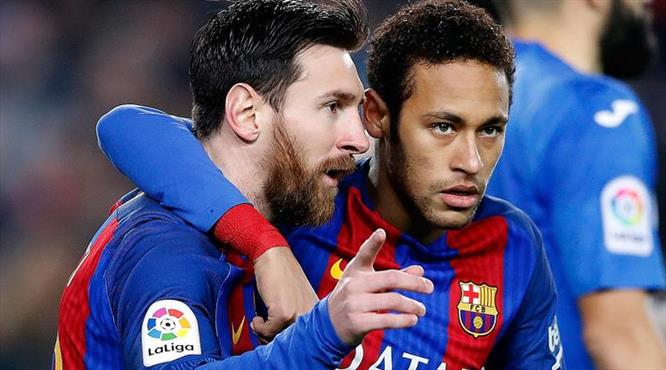 Messi Barça'yı kurtardı (ÖZET)