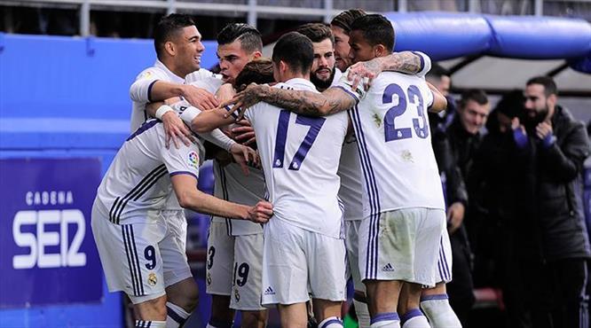 Real Eibar'a patladı (ÖZET)