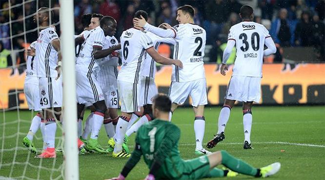 Trabzonspor-Beşiktaş: 3-4
