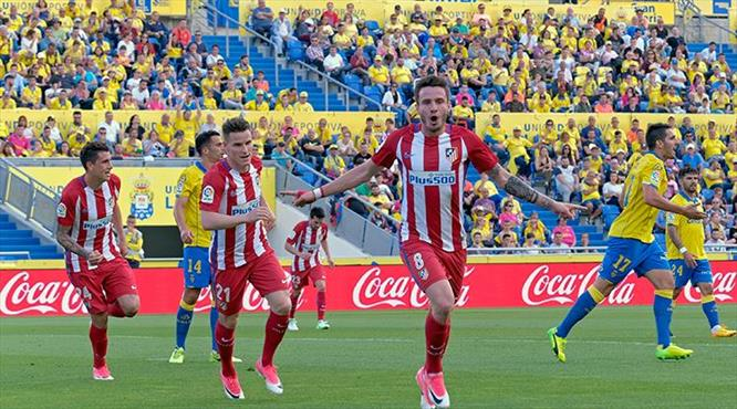 Atletico Madrid'den gol şov