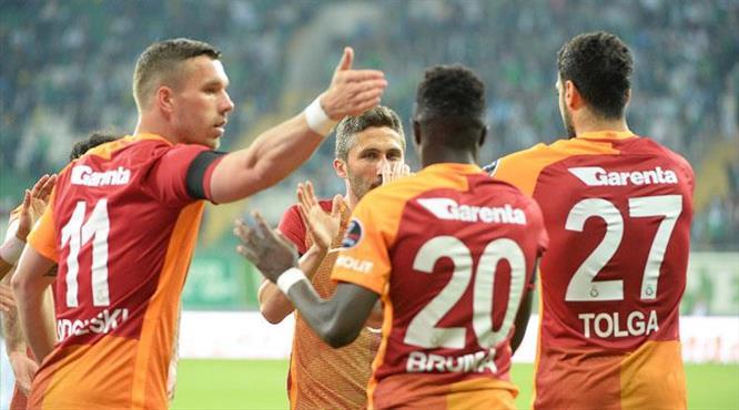Bursaspor-Galatasaray: 0-5
