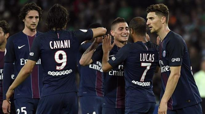 PSG Saint-Etienne'ni gole boğdu (ÖZET)