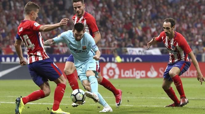 Barça'ya Atletico freni!