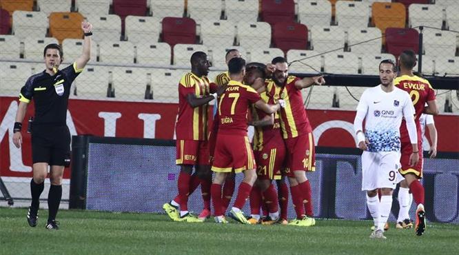 Y.Malatya - Trabzonspor: 1-0