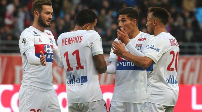 Lyon gol oldu yağdı
