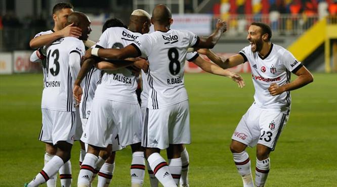 Göztepe-Beşiktaş: 1-3