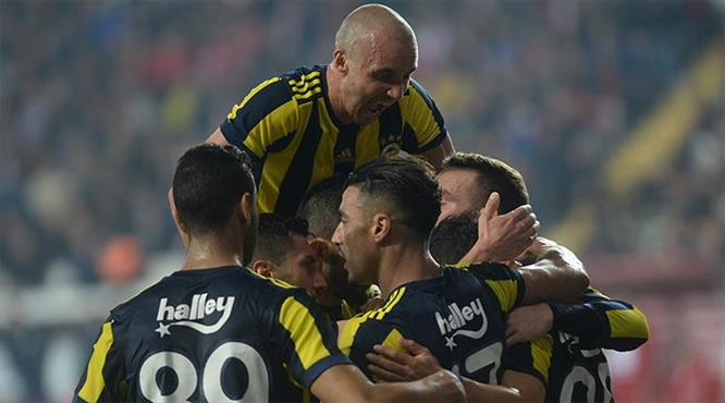 Antalyaspor-Fenerbahçe: 0-1