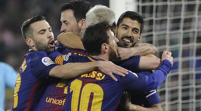 Barça'dan gövde gösterisi